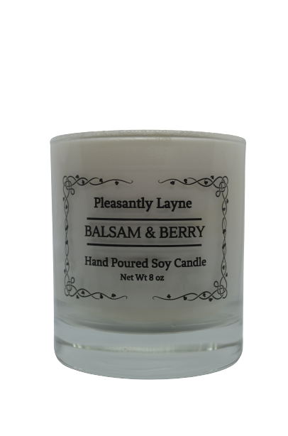 Pleasantly Layne Box Candle