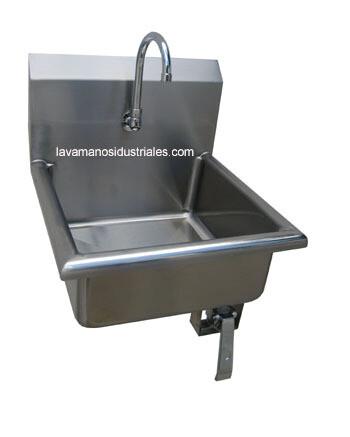 Lavamanos con Pedal de Rodilla Sencilla