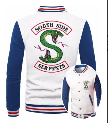 Jaqueta College Masculina Riverdale South Side Serpents