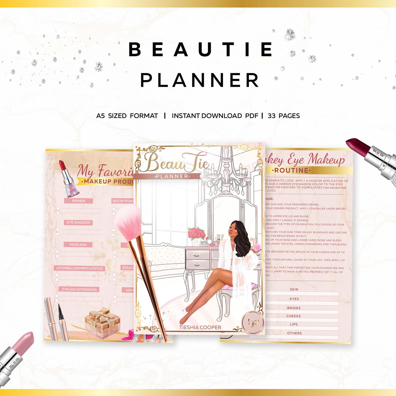BeauTie's Makeup & Skincare Planner