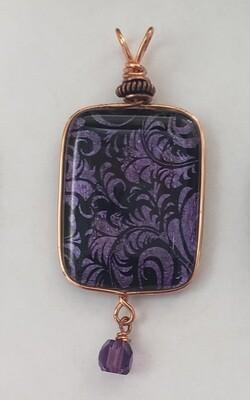 Purple Pendant