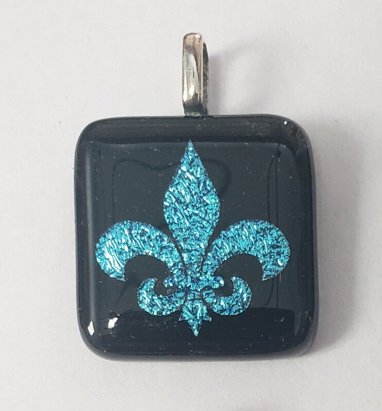 Etched  Pendant