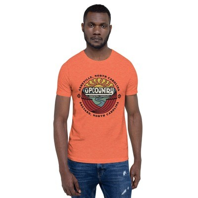 UpCountry Full Color Sunmark Logo on Various Color T-Shirts
