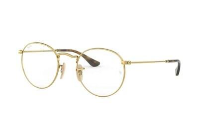 Ray Ban RX3447V Round Metal Glasses (3)
