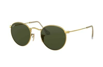 Ray Ban RB3447 Round Metal Sunglasses (3)