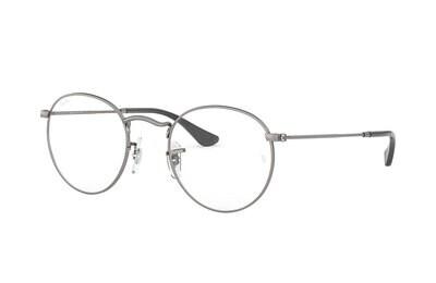 Ray Ban RX3447V Round Metal Gunmetal Glasses
