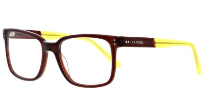 Kangol 263-2 Brown/Yellow Glasses