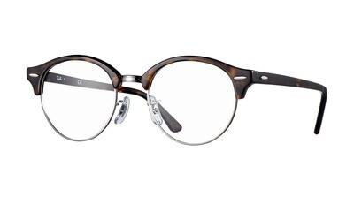 Ray Ban RX4246v Clubround Dark Havana Glasses
