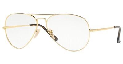 Ray Ban RX6489 Aviator Arista Glasses
