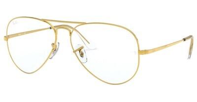 Ray Ban RX6489 Aviator Legend Gold Glasses