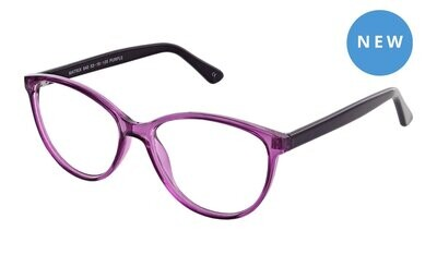 Reglaze Specs RS840 Purple Women's Glasses