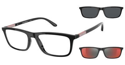 Emporio Armani EA4160 50171W Black Glasses