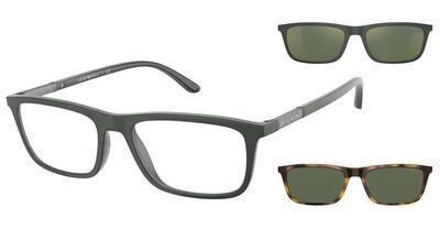 Emporio Armani EA4160 50581W Matte Green Glasses