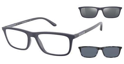 Emporio Armani EA4160 50881W Matte Blue Glasses