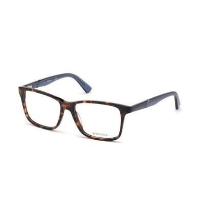 Diesel DL5293 52A Havana/Blue Glasses