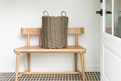 Wide Rope Baskets