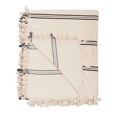 Turkish Throw Blanket - Three Stripe