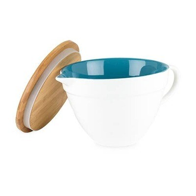 Ceramic Batter Bowl with Lid