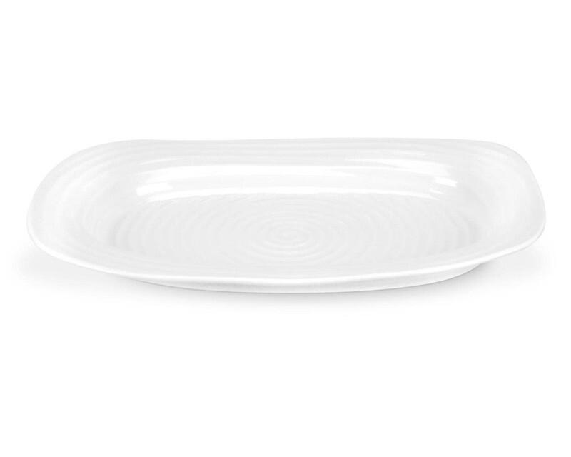 White Sandwich Tray