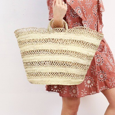Cannes Straw French Basket