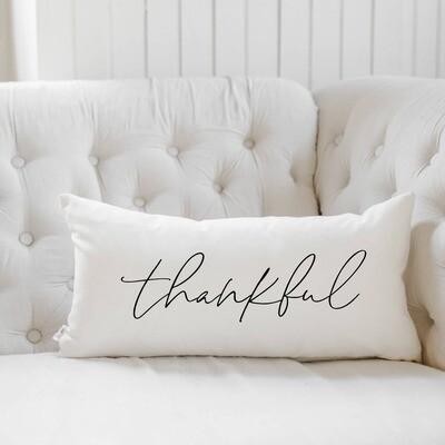 Thankful Lumbar Pillow