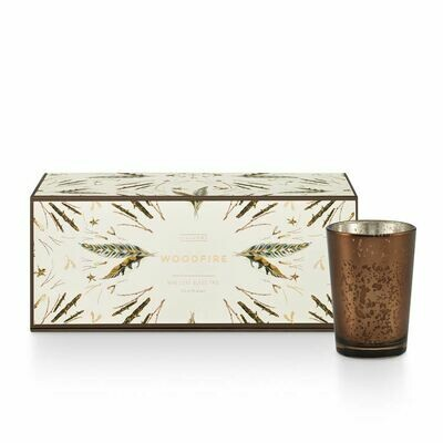 Woodfire Mini Luxe Candle Set