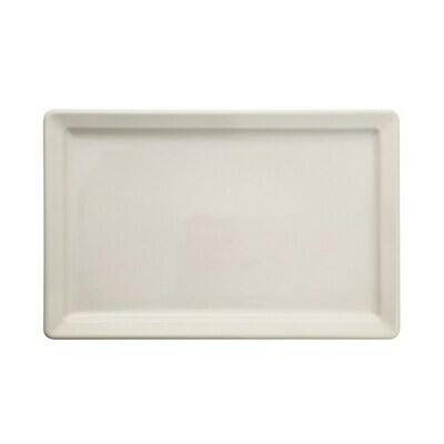 Stoneware Vintage Reproduction Platter, Antique White