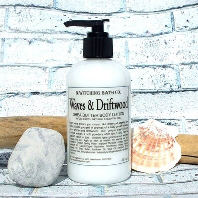 8oz Waves & Driftwood Sheabutter Body Lotion
