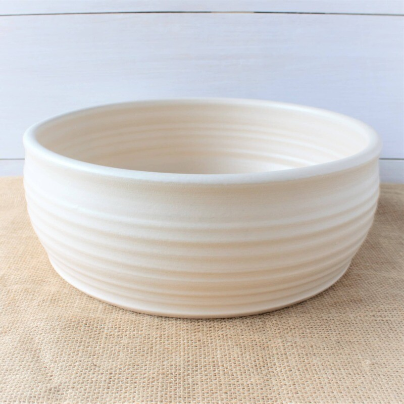 Ridges Serving Bowl
