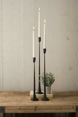 Cast Iron Taper Candle Holder
