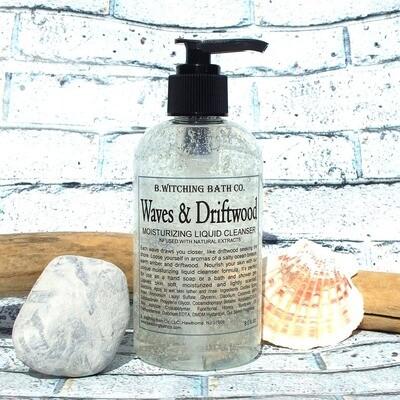 Waves and Driftwood Moisturizing Liquid Cleanser