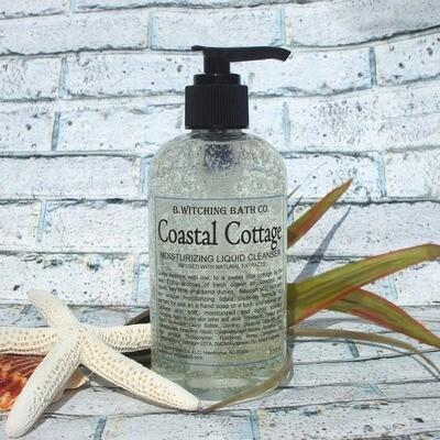 8oz Coastal Cottage Moisturizing Liquid Cleansers