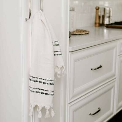 Turkish Hand Towel- Two Stripe