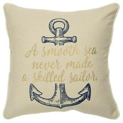 A Smooth Sea Pillow