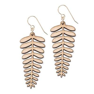 Fern Gold Earrings