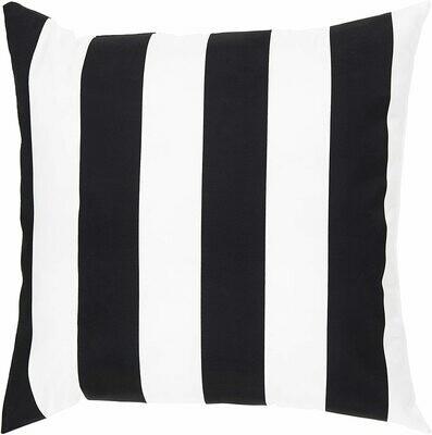 Blk/Wht Stripe Pillow
