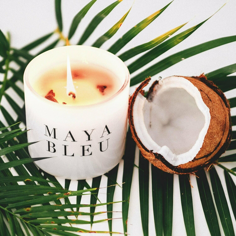 Maya Bleu Shark Tooth Candle