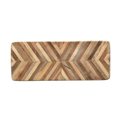 Chevron Mango Wood Cutting Board