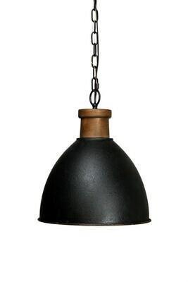 Craftsman Black Pendant