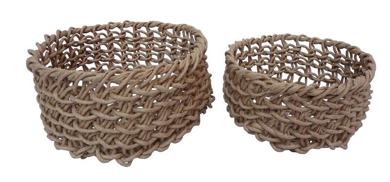 Small Round Folding Basket