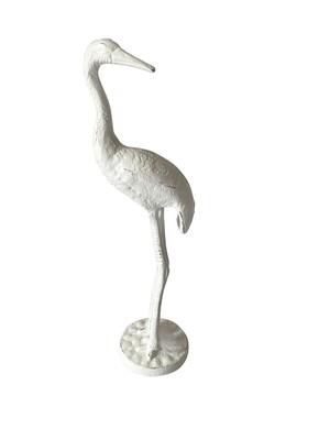 Cast Iron Pelican - Antique White