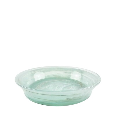 Recycled Spanish Glass Flat Dish