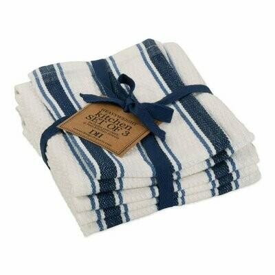 Marine Blue Classic Towel - S/3