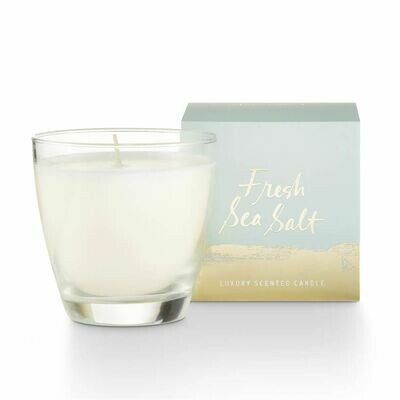 Fresh Sea Salt Demi Boxed Glass Candle
