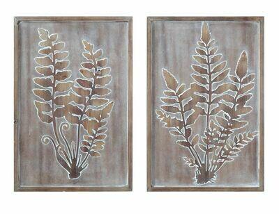 Wood Framed Wall Art