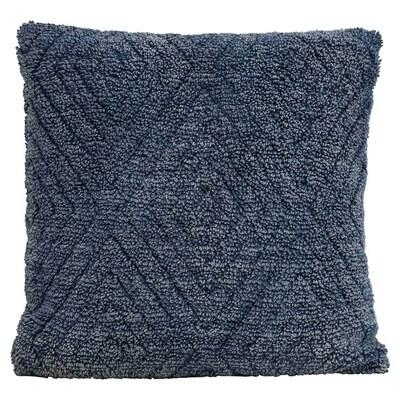 Navy Chenille Blend Pillow