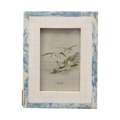 Wave and Tile Photo Frame - 8.5 x 6.5