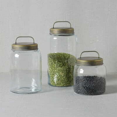 Archer Canister w Metal Lid