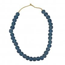 Recycled Glass Beads- Blue