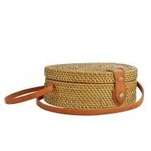 Taylor Round Grass Shoulder Bag